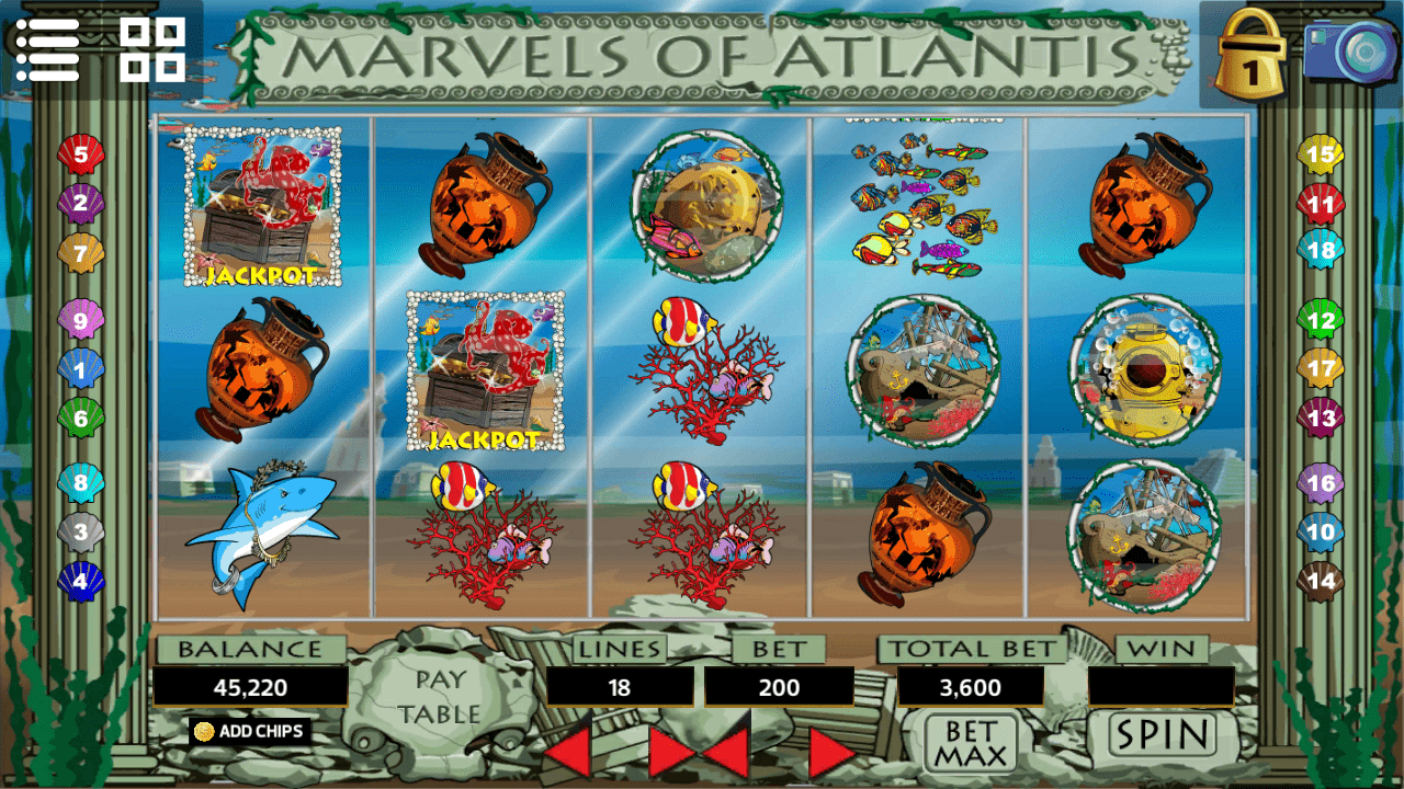 Slot - Marvels of Atlantis